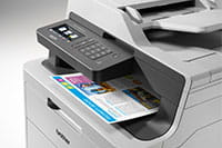 DCP-L3550DW Colour printer with colour print out