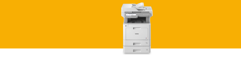 printer in a plain setting