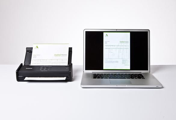 ADS-1100W compact document scanner
