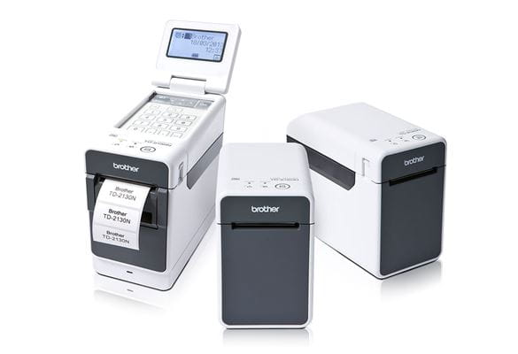 Brother's TD-2000 range of compact portable label printers for healthcare