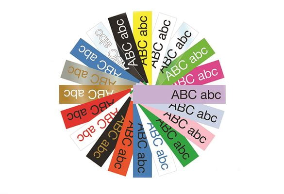 Brother tape colour wheel