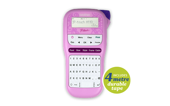 PTH110PK Compact Handheld Labelling Machine 3