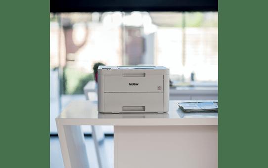 HLL3210CW Colour Wireless LED Printer 7