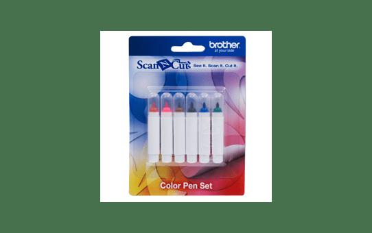 CAPEN1: ScanNCut 6 Colour Pen Set