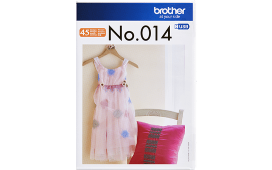 BLECUSB14AP: Embroidery Design Collection 14
