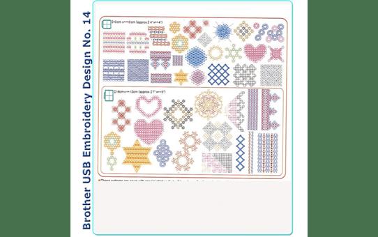 BLECUSB14AP: Embroidery Design Collection 14 2