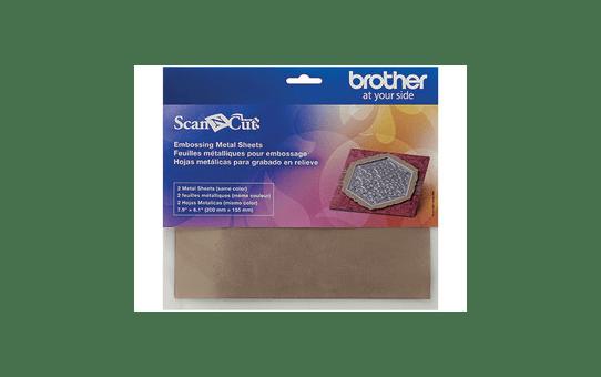 CAEBSBMS1: ScanNCut Embossing Bronze Metal Sheets