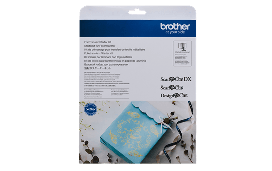 CAFTKIT1: ScanNCut Foiling Starter Kit  3