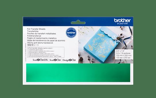 CAFTSGRN1: ScanNCut Foil Sheets - Green