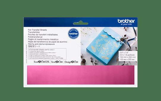 CAFTSPNK1: ScanNCut Foil Sheets - Pink