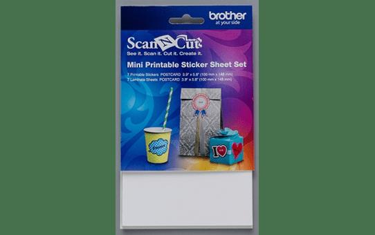 CAPSSMINI: ScanNCut Mini Printable Sticker Sheet Set