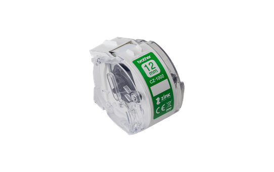Genuine Brother CZ1002 full colour continuous label roll, 12mm wide 2