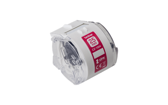 Genuine Brother CZ1004 full colour continuous label roll, 25mm wide 2