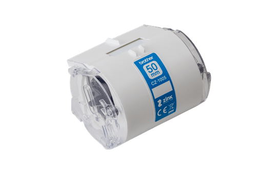 Genuine Brother CZ1005 full colour continuous label roll, 50mm wide 2