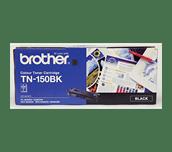 TN150BK black standard yield toner (2,500 pages) for Brother laser printer