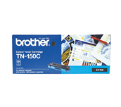 TN150C cyan standard yield toner (1,500 pages) for Brother laser printer