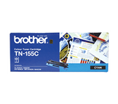 TN155C cyan high yield toner (4,000 pages) for Brother laser printer