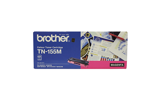 TN155M magenta high yield toner (4,000 pages) for Brother laser printer