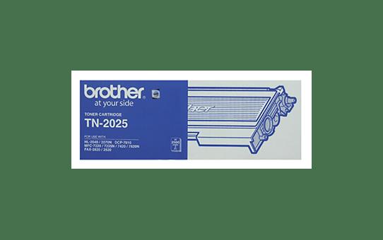TN2025 black standard yield toner (2,500 pages) for Brother laser printer