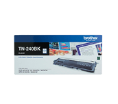 TN240BK black standard yield toner (2,200 pages) for Brother laser printer