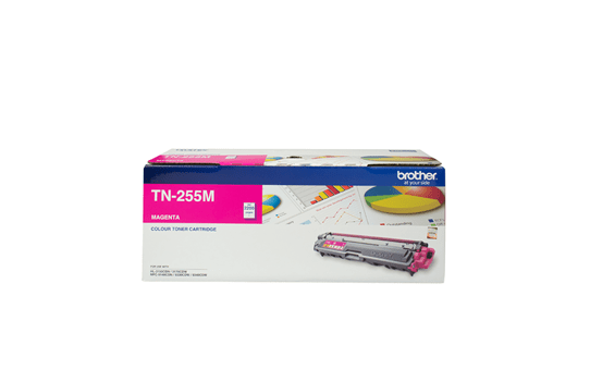 TN255M magenta high yield toner (2,200 pages) for Brother laser printer