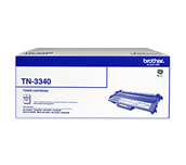 TN3340 black high yield toner (8,000 pages) for Brother laser printer