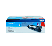 TN340C cyan standard yield toner (1,500 pages) for Brother laser printer