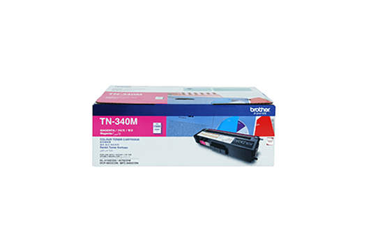 TN340M magenta standard yield toner (1,500 pages) for Brother laser printer