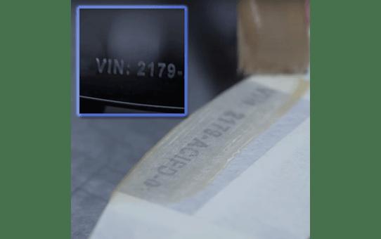 Genuine Brother STe-161 Stencil Tape Cassette – Black, 36mm wide 4