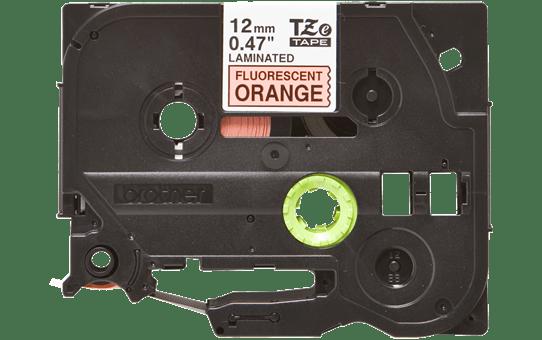 Genuine Brother TZe-B31 Labelling Tape Cassette – Fluorescent Orange, 12mm wide