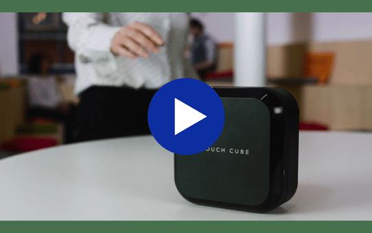 P-Touch Cube Mobile Label Maker - PTP710BT 4