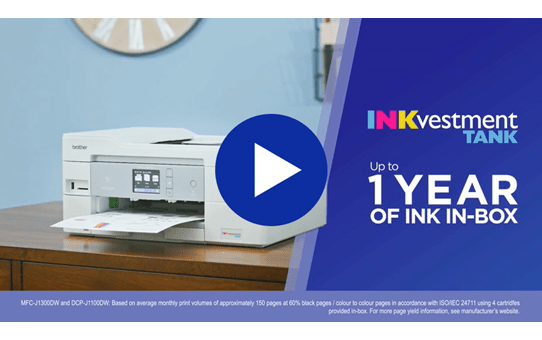 DCPJ1100DW Wireless 3-in-1 Colour Inkjet Printer 7
