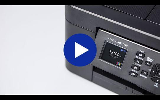 MFCJ491DWWireless 4-in-1 Inkjet Printer 8